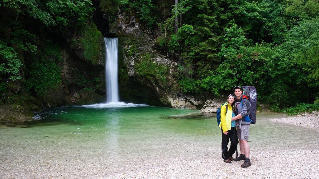 Grmečica Waterfall, Slovenia