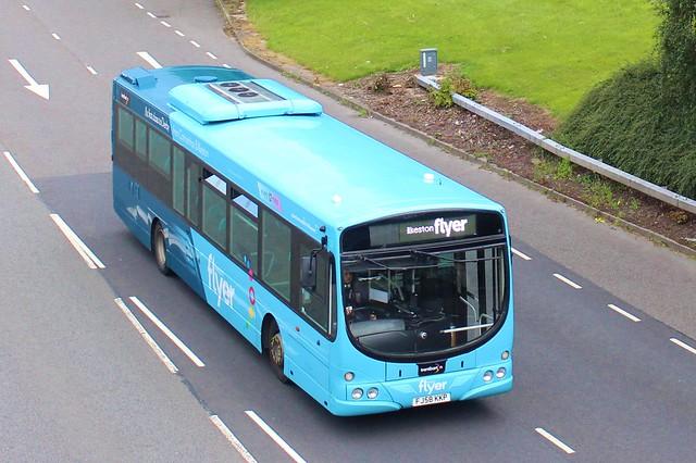 721 FJ58KKP  Seen on the A52 near Meadow Road, Derby