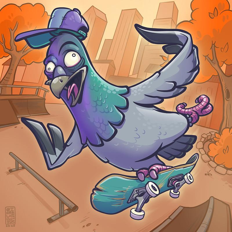 Pigeon_Skater_ 1