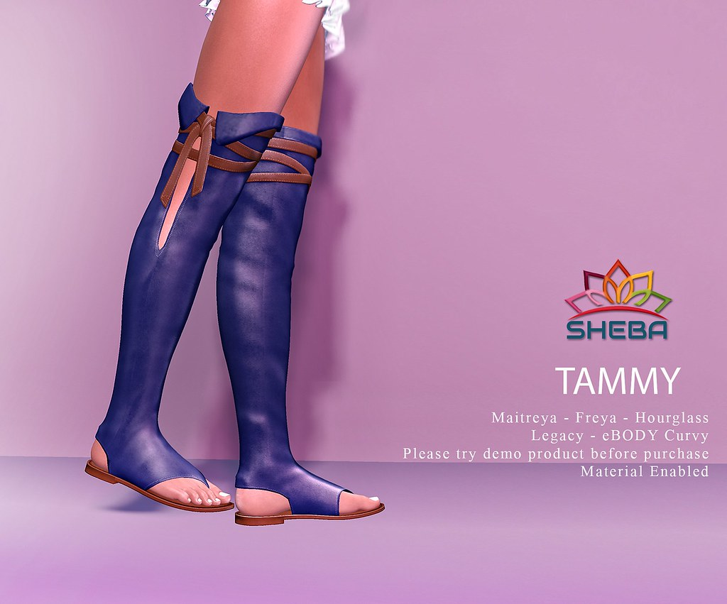 Tammy Thigh High Sandals@Cosmopolitan