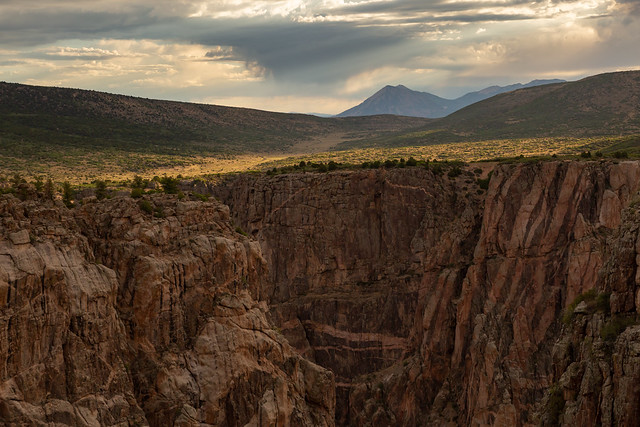 Morning at Black Canyon of the Gunnison