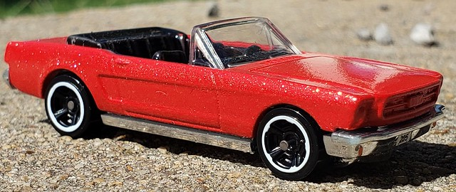 Customized Hotwheels Ford Mustang