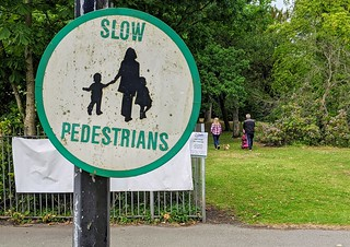 Slow Pedestrians | by Tony Worrall