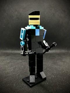 Nightwing legoland minifig inspired build