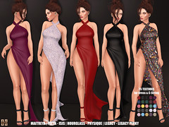 Hilly Haalan - Domenica Halter Neck Dress w