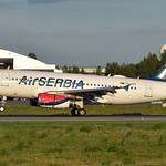 Air Serbia YU-APF, OSL ENGM Gardermoen