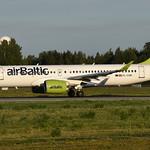 Air Baltic YL-CSM, OSL ENGM Gardermoen