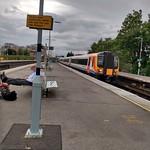 444001 arriving at Basingstoke