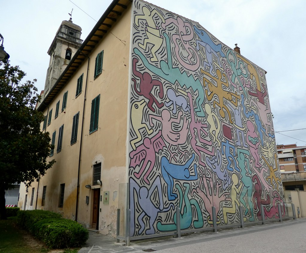 Tuttomondo by Keith Haring Pisa