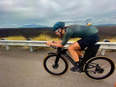 Kayla Kobelin TT bike
