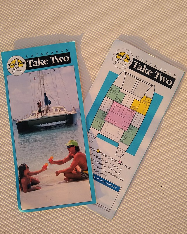 Take Two charter brochure (1991)