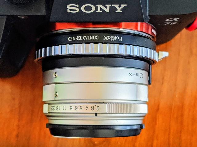 Contax G Biogon 28mm f/2.8