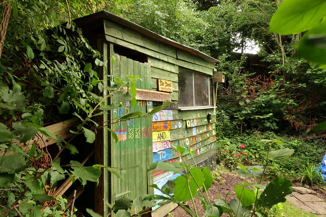 Troopers Hill Allotments shed