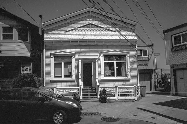 Mullen Street, Bernal Heights, San Francisco
