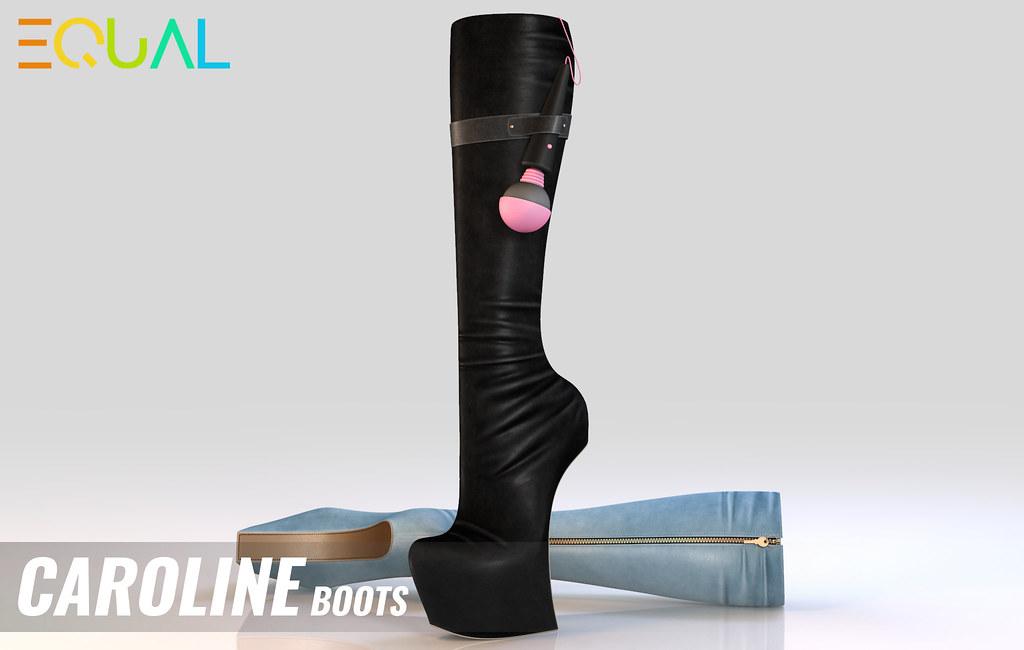EQUAL- Caroline Boots