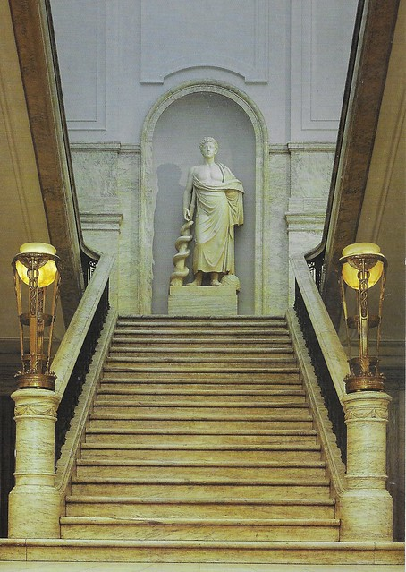 Philadelphia  Pennsylvania - The College of Physicians - Staircase
