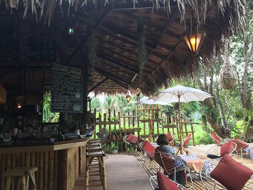 サムイ島 菜園の中のカフェレストラン Nature Samui