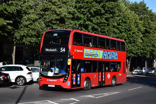 13101 - Stagecoach London - E400MMC (B5LH) - BL65OYX - Route 54