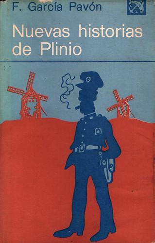Nuevas Historias de Plinio. Portada de la Primera Edición
