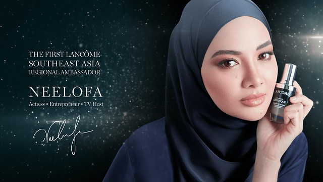 Neelofa Jadi Duta Rantau Asia Tenggara Lancôme Yang Pertama