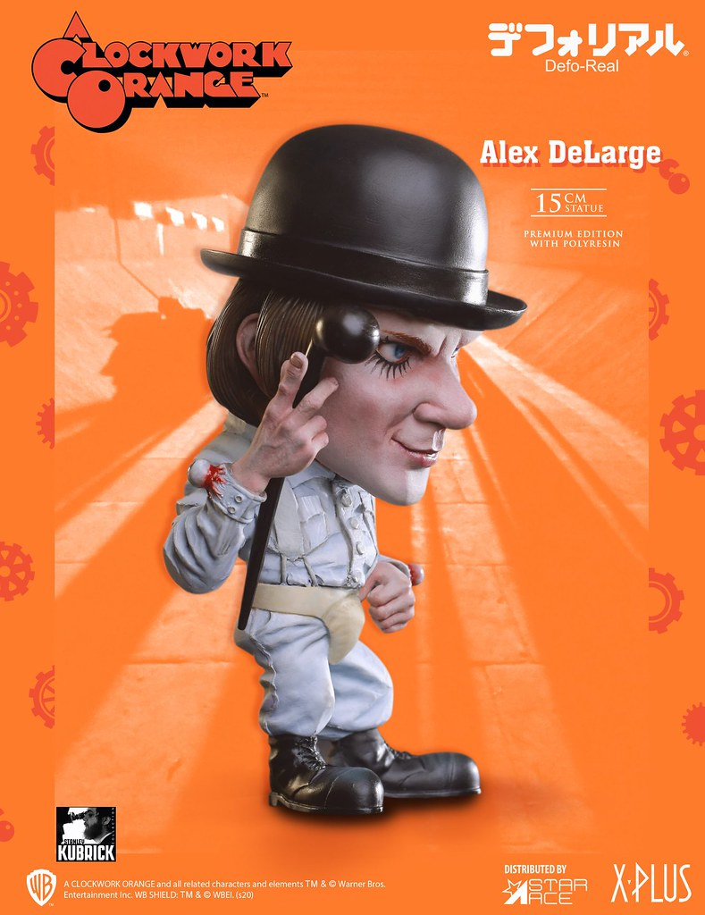 Defo-Real 系列《發條橘子》亞歷克斯(Alex DeLarge)