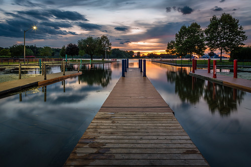 2020 august canada detroitriver lasalle ontario gilmaurepark summer sunset