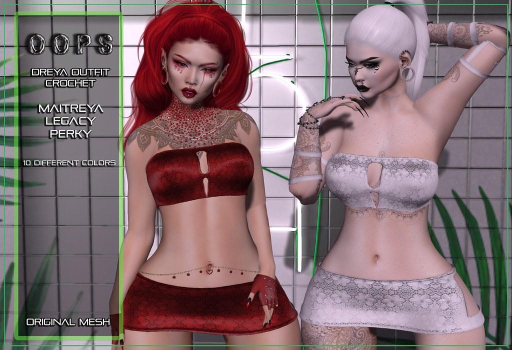 ::OOPS:: Dreya Outfit – Crochet