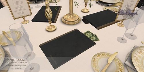 Waiter Books