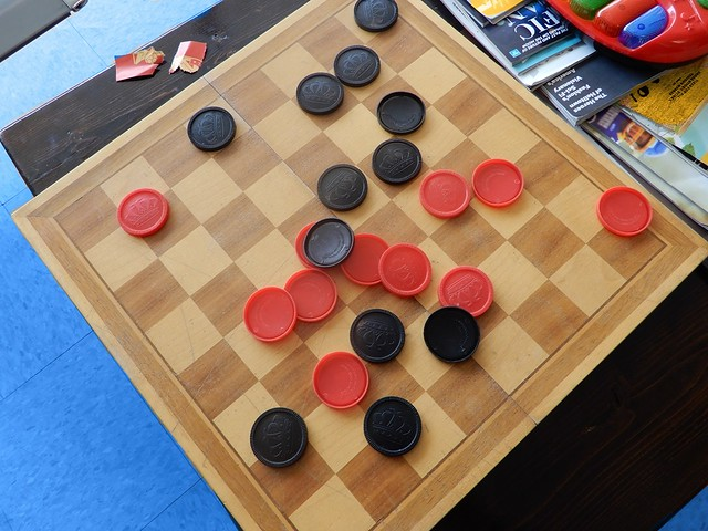 Checkers - Photo by STEVEN CHATEAUNEUF - Taken On July 10, 2019  - This Photo Was Edited On August 10, 2020 With Both PhotoPad Image Editor And Paint