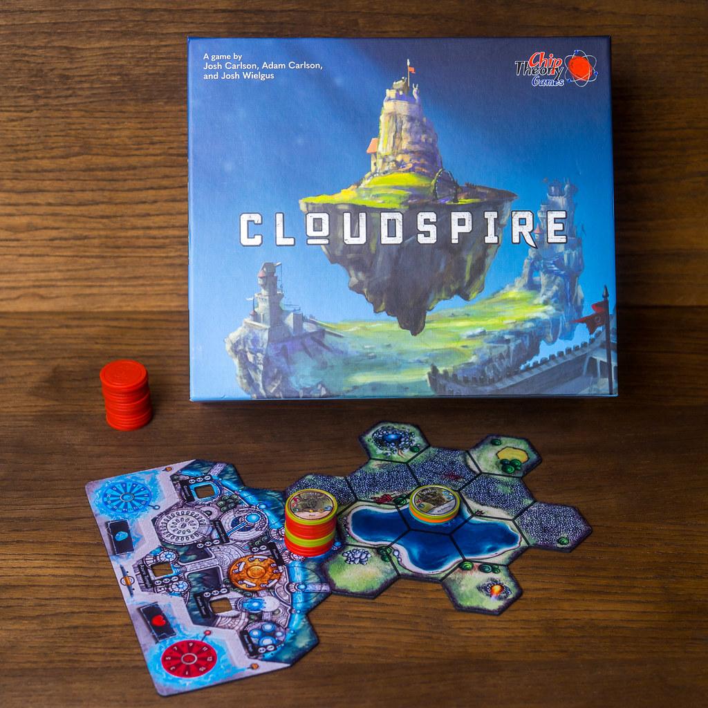 cloudspire boardgame juego