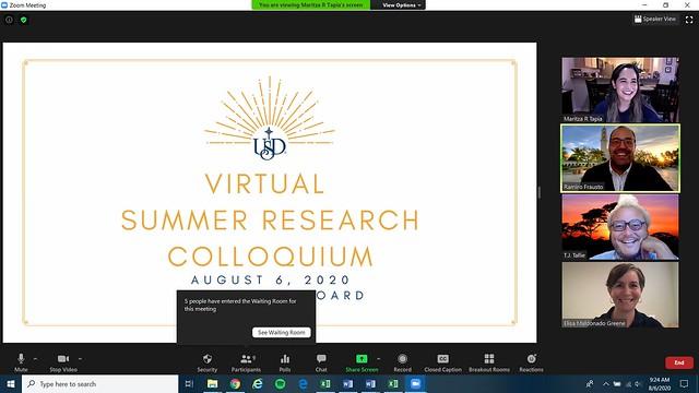 Summer Research Colloquium 2020