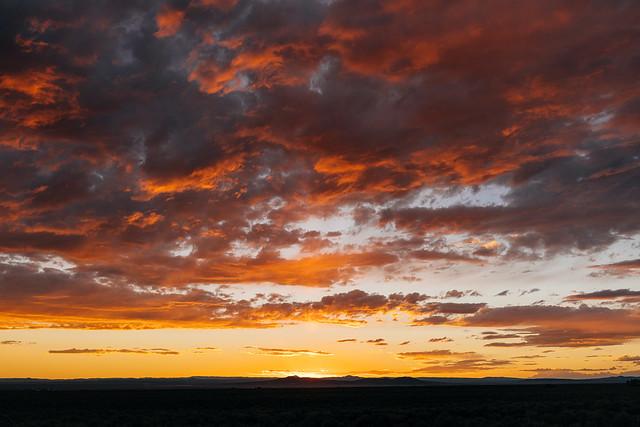 Sunset /// August 9, 2020