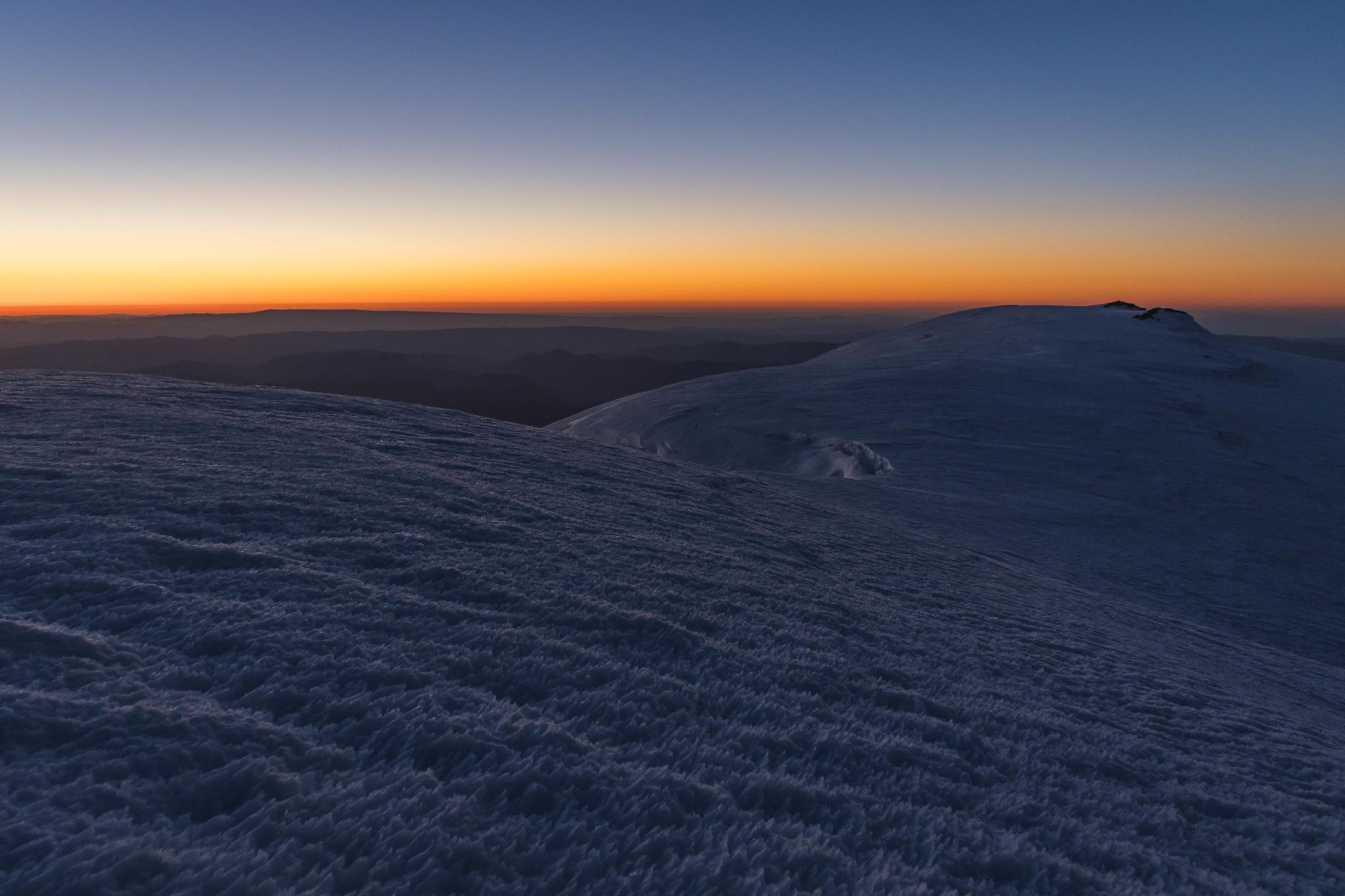Dawning below Liberty Cap