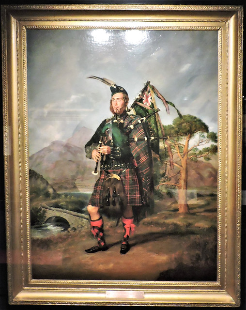 Piper Thomas Hardie of the 79th Cameron Highlanders