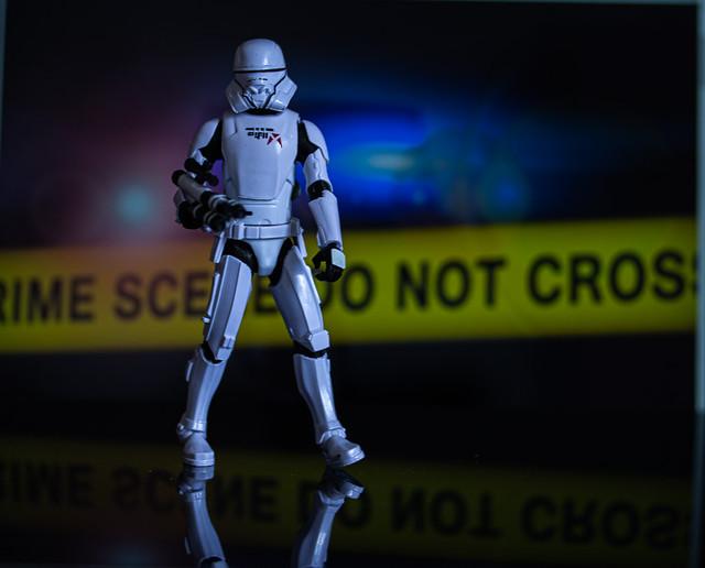 Crime Scene  Stormy