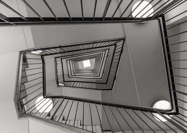 Treppenhaus Stairwell