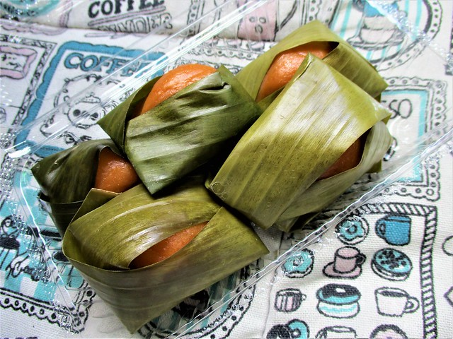 Banana leaf-wrapped kuih