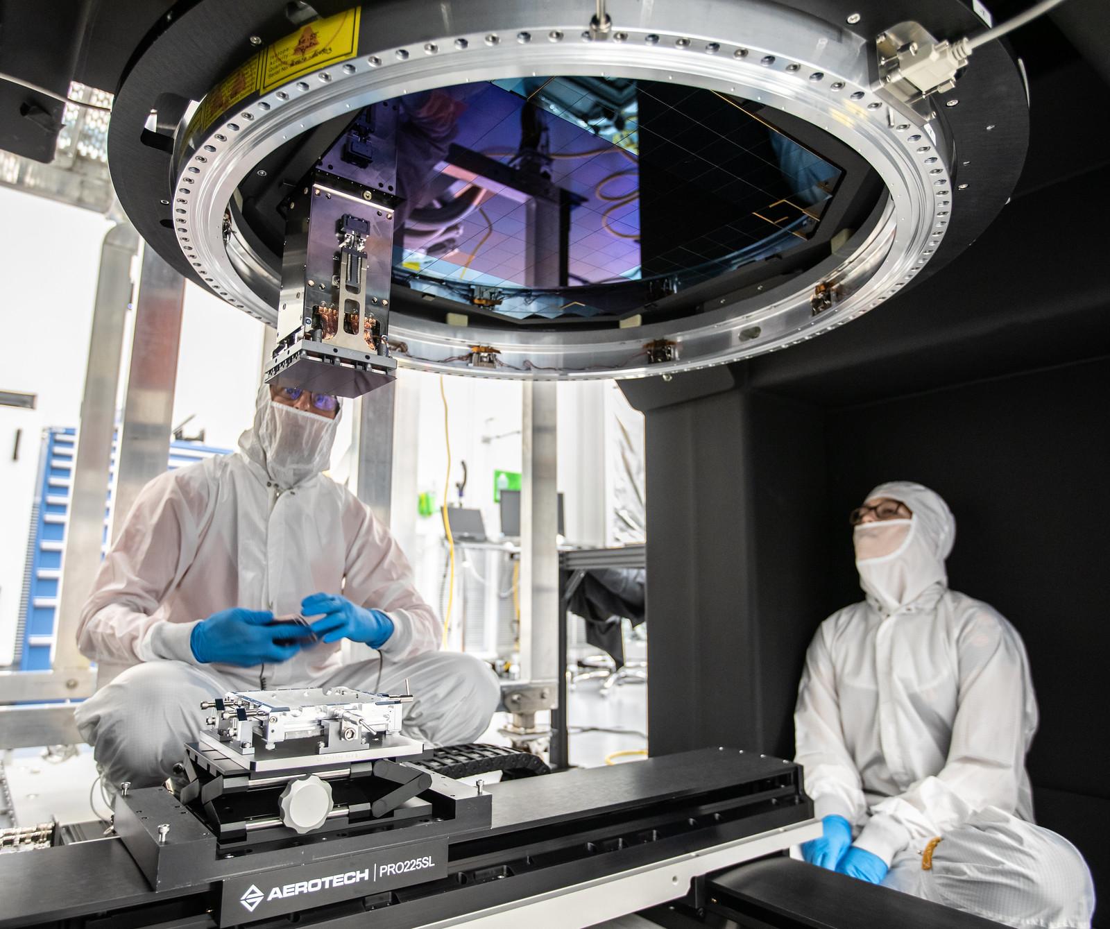 LSST Camera Focal Plane Build (Vera C. Rubin Observatory)