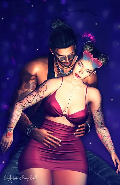 ★✩ Ricielli | Cinnamon Cocacine | Arabic Tattoo | Secret Poses | Cosmopolitan Event ✩★