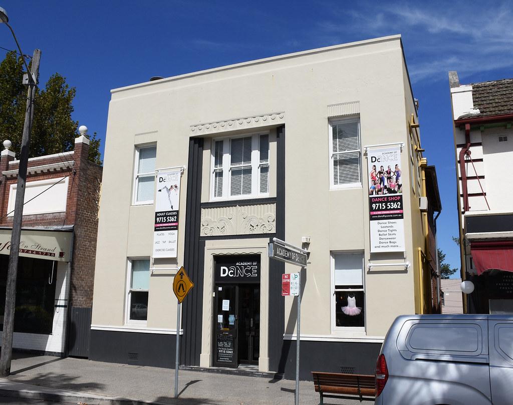 Former Commonwealth Bank, Croydon, Sydney, NSW.