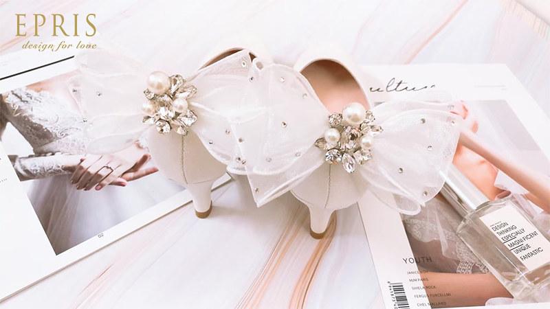 珍珠白 鞋花