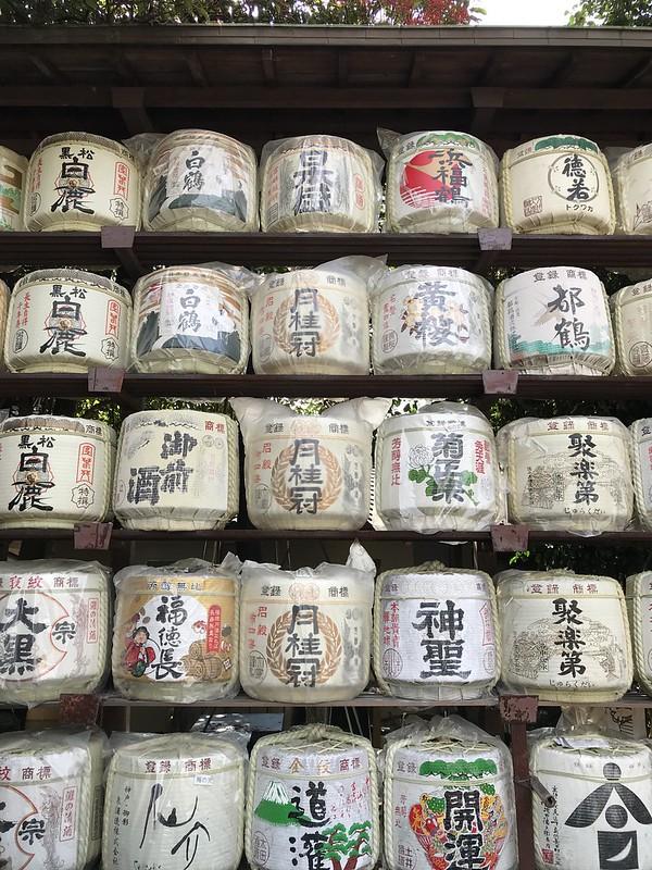 梅宮大社の酒樽