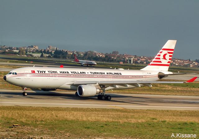 TURKISH AIRLINES A330 TC-JNC