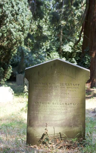 The Biggerstaff family grave