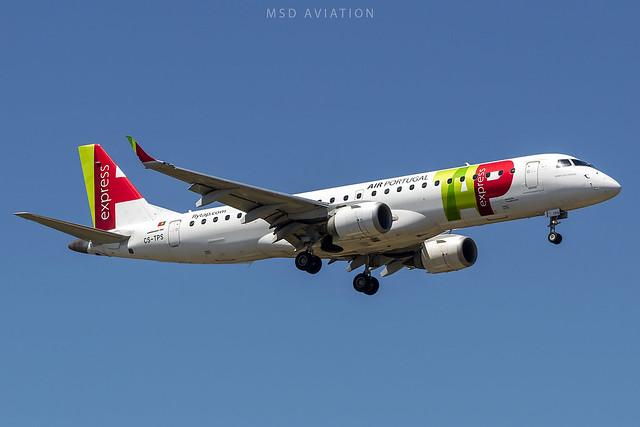 Embraer E190LR CS-TPS Air Portugal Express