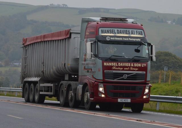 Mansel Davies M2 MDS On Newtown Bypass