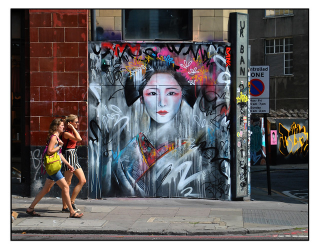 LONDON STREET ART by DAN KITCHENER