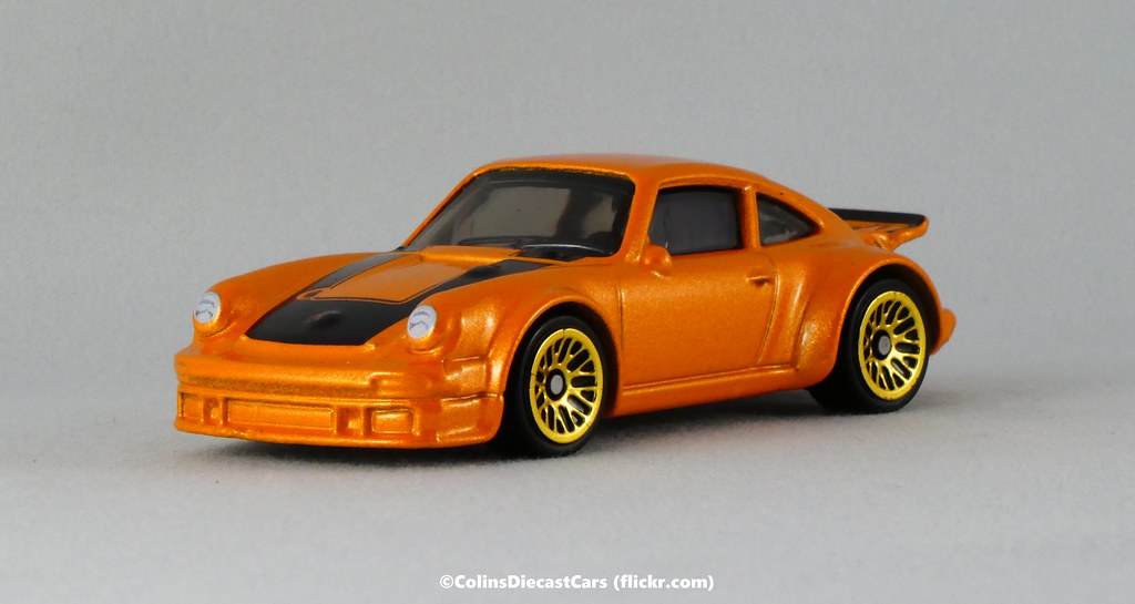 2019 Hot Wheels Porsche 934 Turbo RSR Exotics Orange