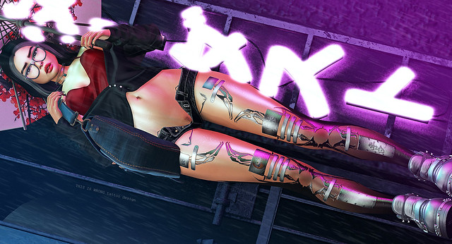 THIS IS WRONG Daruma shine+tattoo 3D - exclusive for ACCESS