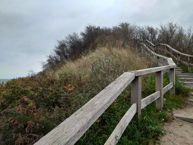 Aussichtspunkt am Strand